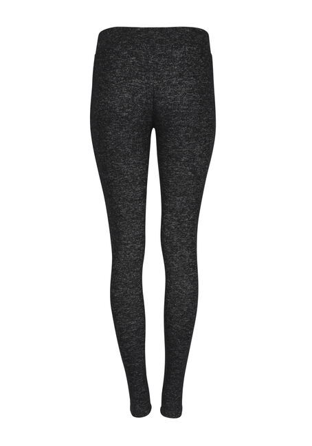 Ladies' Textured Legging, CHARCOAL, hi-res