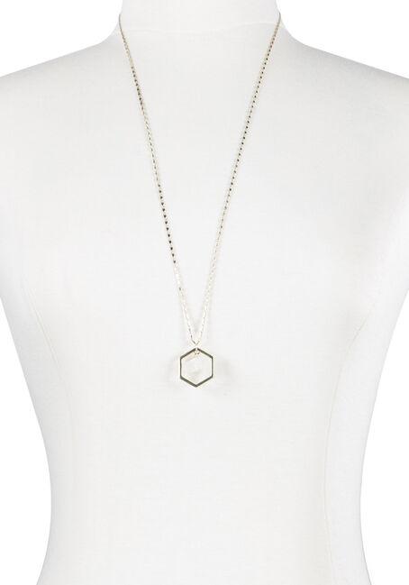 Ladies' Octagon Rock Necklace