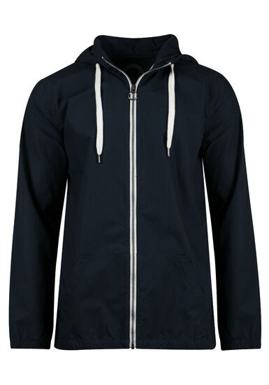 Men's Cotton Jacket, NAVY, hi-res