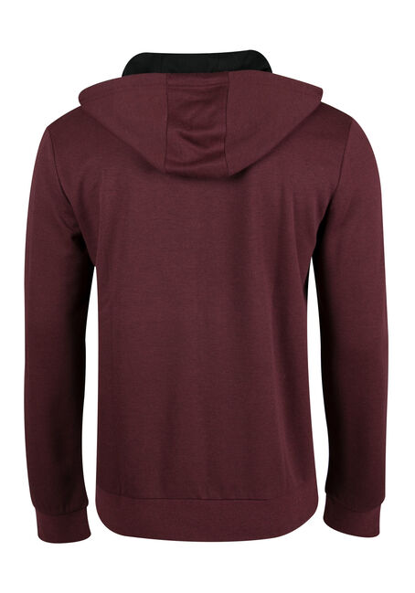 Men's Space Dye Hoodie, PORT, hi-res