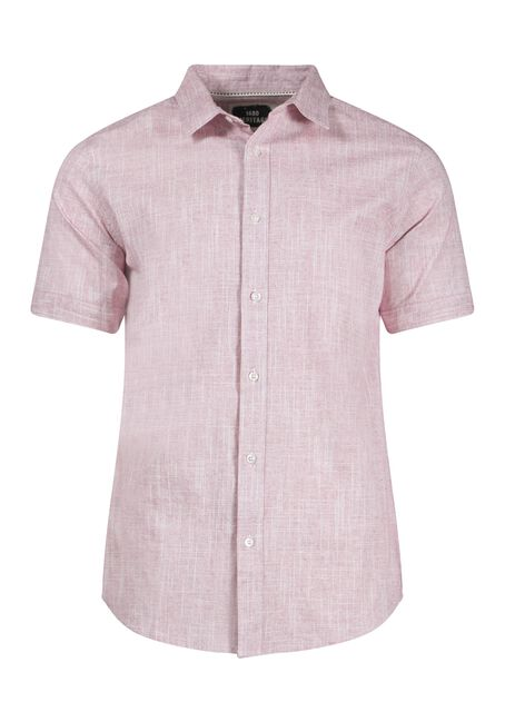 Men's Oxford Shirt, RED, hi-res