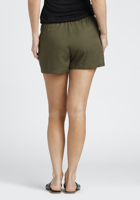 Ladies' Soft Short, OLIVE, hi-res