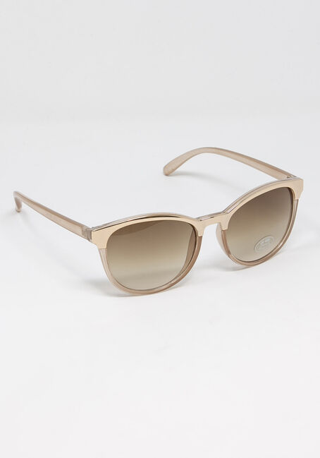 Women's Blush Wayfarer Sunglasses