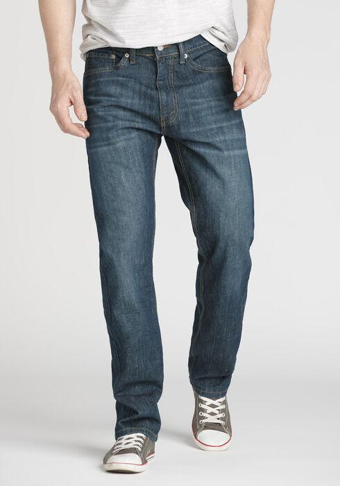 Men's Regular Fit Jeans, DARK WASH, hi-res
