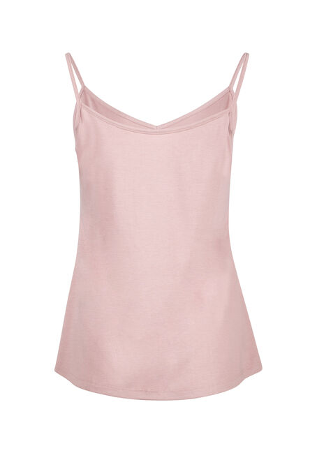 Women's Reversible Relaxed Strappy Tank, DAHLIA, hi-res