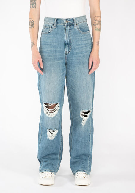 Women's High Rise 90's Baggy Jeans