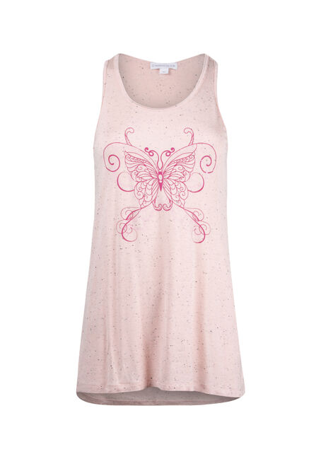 Women's Butterfly Speckle Tank