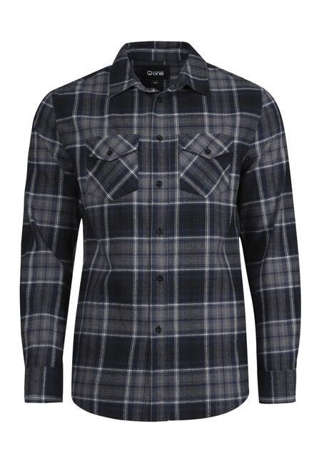 Men's Flannel Plaid Shirt