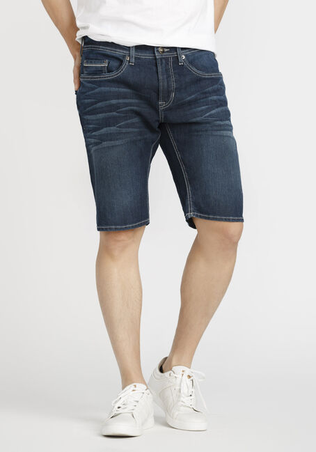 Men's Dark Wash Jean Short