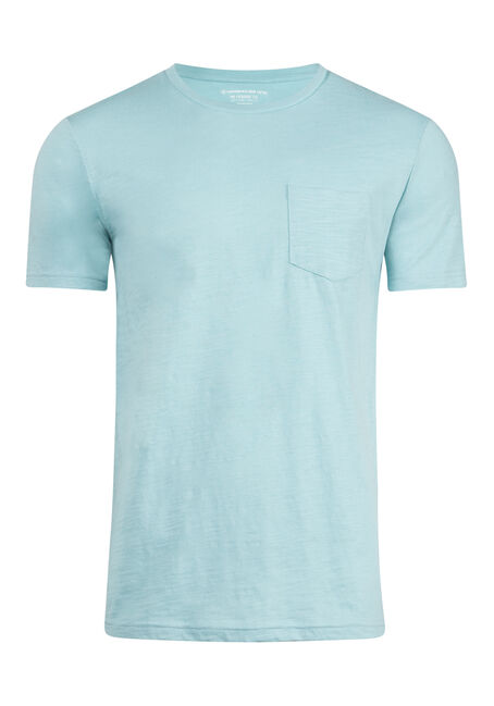 Men's Everyday Crew Neck Pocket Tee