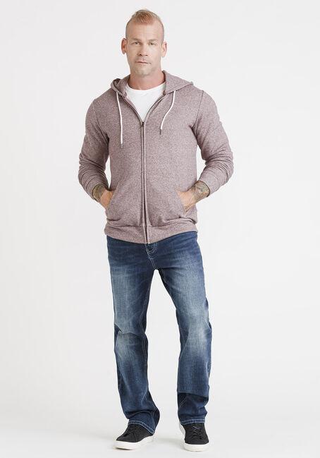 Men's Zip Front Hoodie, VINEYARD, hi-res