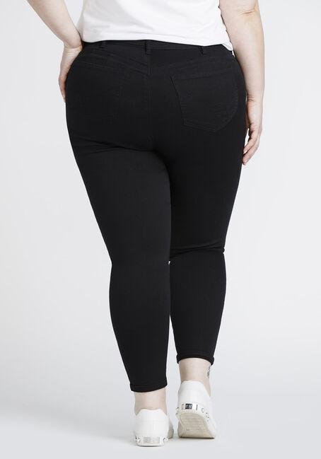 6e4b1713f1726 Women  39 s Plus Size Distressed Skinny Crop