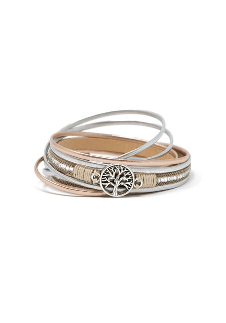 Ladies' Tree Wrap Bracelet