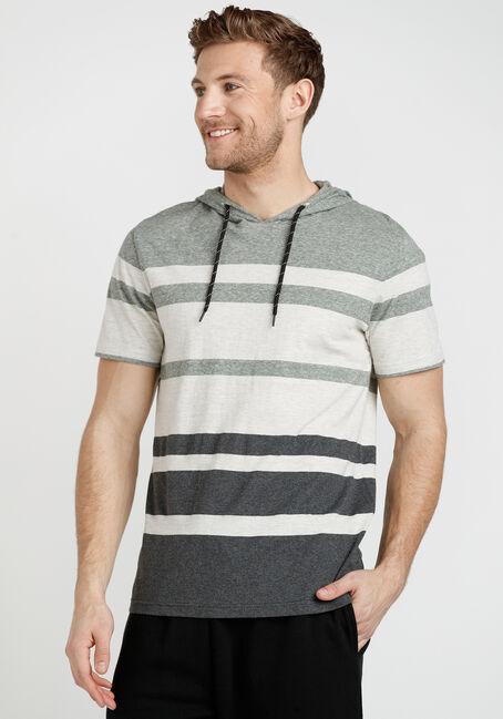 Men's Short Sleeve Hooded Tee