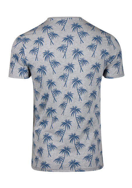 Men's Tropical Tee, CHARCOAL, hi-res