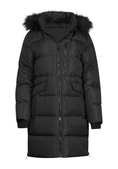 Women's Long Puffer Jacket