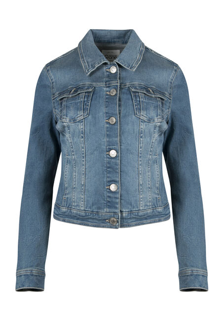Ladies' Super Soft Jean Jacket