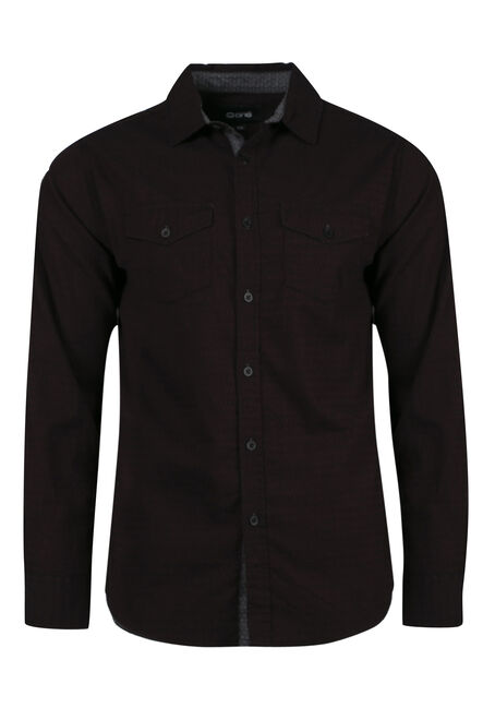 Men's Comfort Stretch Textured Shirt