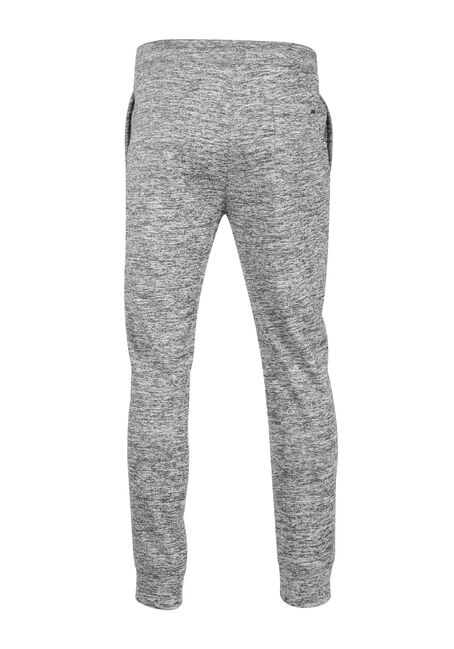 Men's Textured Fleece Jogger, CHARCOAL, hi-res