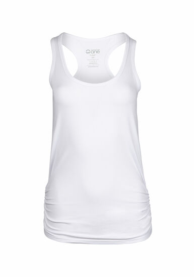 Women's Super Soft Tank, WHITE, hi-res