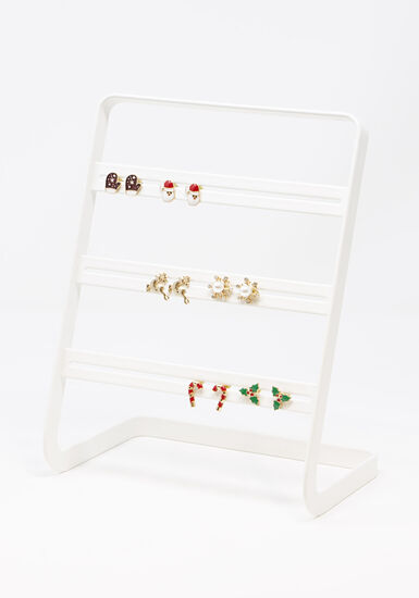 Women's Holiday Earring Set, MULTI, hi-res