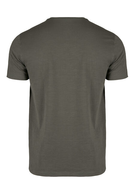 Men's Everyday Crew Neck Tee, DARK OLIVE, hi-res