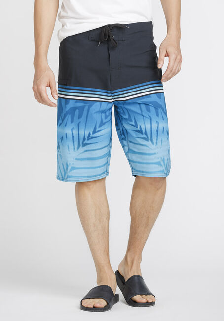 Men's Tropical Print Board Shorts