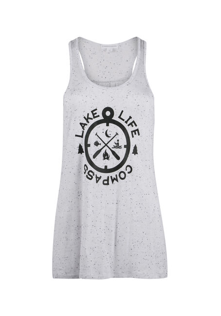 Ladies' Lake Life Compass Tank