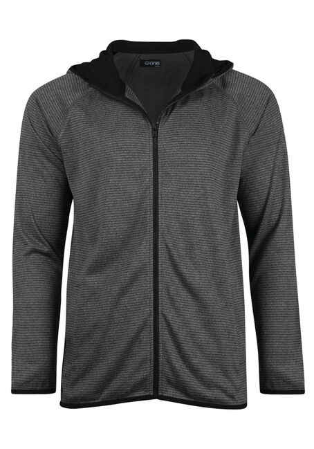 Men's  Zip Front Athletic Hoodie
