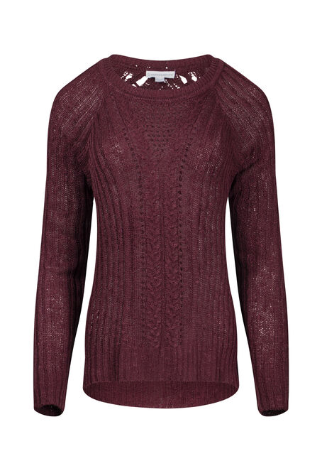 Women's Pointelle Sweater