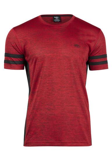 Men's Athletic Tee, RED (HEAT), hi-res