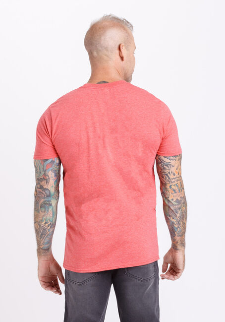 Men's Let's Get Toasted Tee, HEATHER RED, hi-res