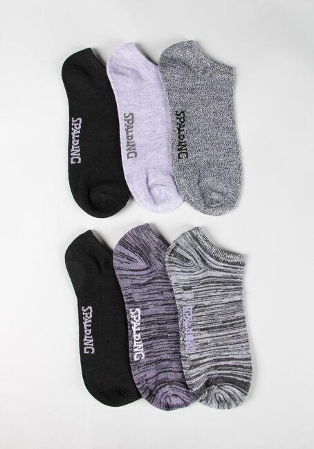 Women's 6 Pair Spalding Socks