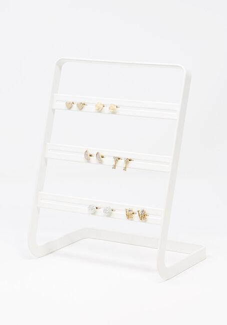 Women's 6 Pair Earring Set