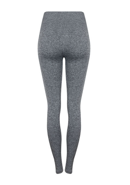 Women's High Waist Shape Wear Legging, GREY MIX, hi-res