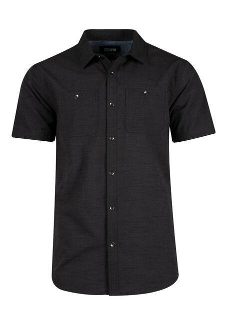 Men's Relaxed Textured Shirt