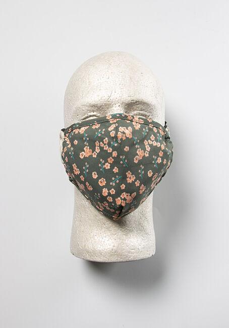 Floral Print Face Mask