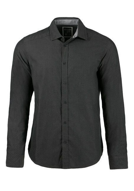 Men's Textured Pattern Shirt