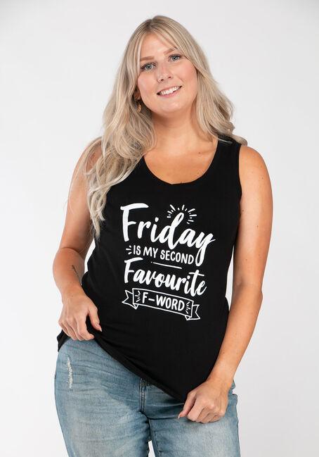 Women's Friday V Neck Tank
