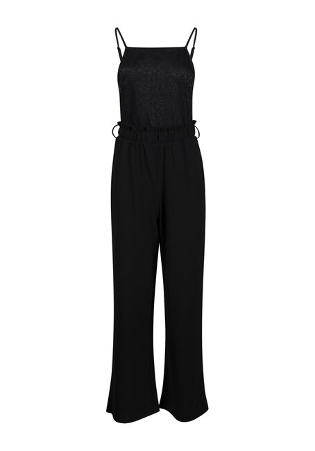 Women's Lace Top Jumpsuit