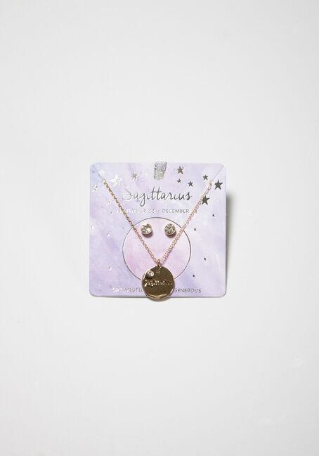 Women's Sagitarius Necklace Set