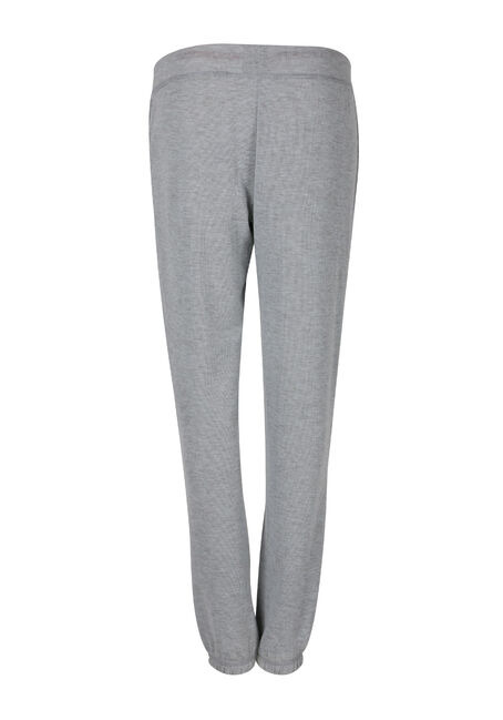 Ladies' Stay Cozy Jogger, CHARCOAL, hi-res