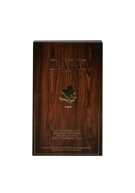 Men's Dark Woods Cologne, DARK BROWN, hi-res