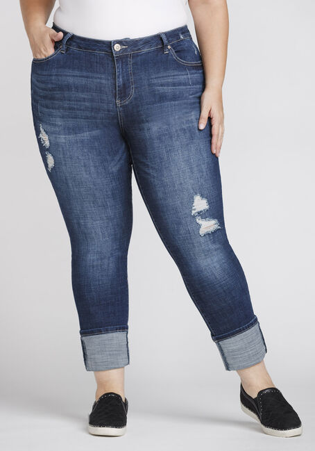 Women's Plus Size High Rise Skinny Jeans