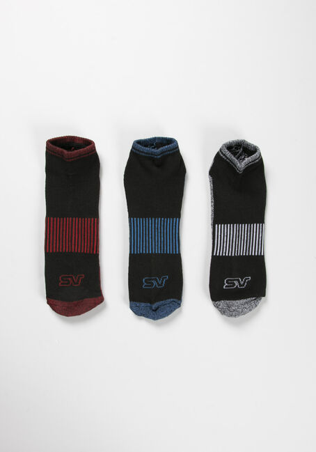Men's Storm Valley Sport Socks, BLACK, hi-res