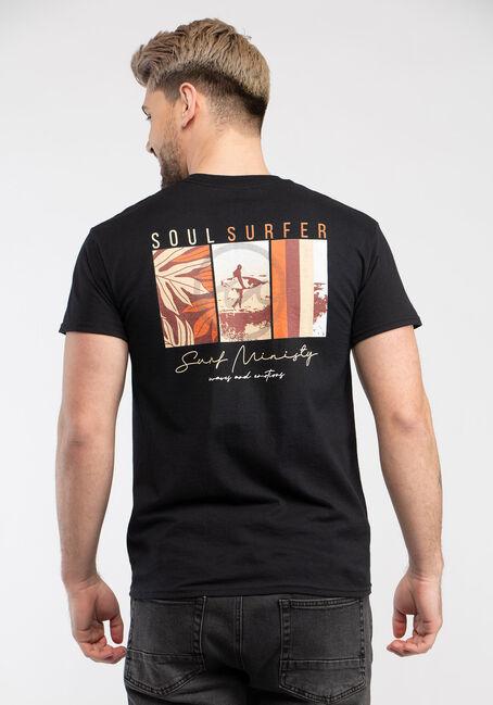 Men's Soul Surfer Tee, BLACK, hi-res