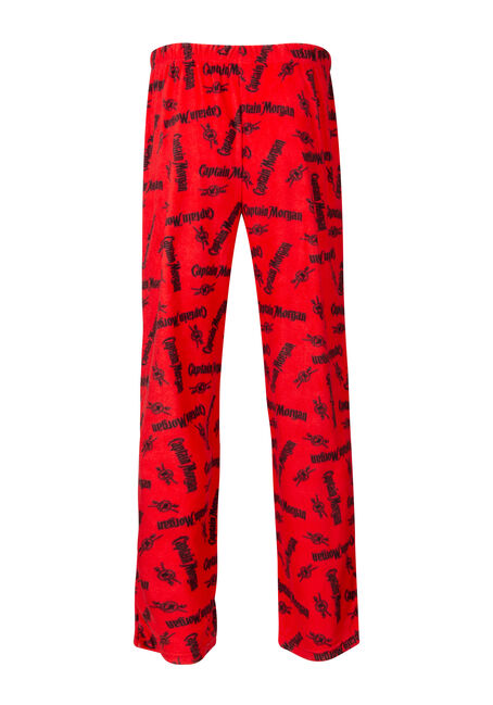 Men's Captain Morgan Sleep Pant, RED, hi-res