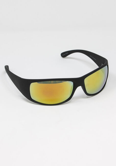 Men's Mirror Lens Sunglasses
