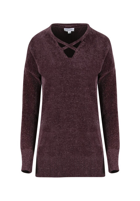 Ladies' Chenille Sweater