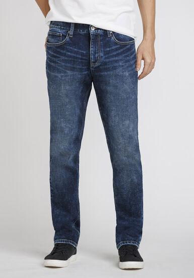 Men's Medium Wash Slim Fit Jeans, MEDIUM WASH, hi-res